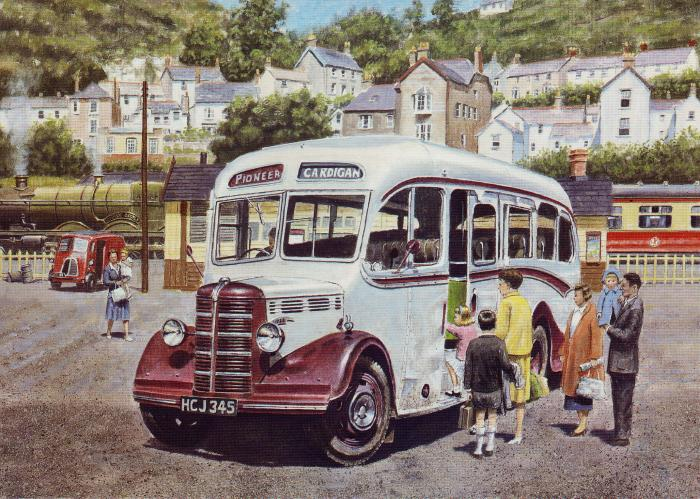 Bedford OB at Goodwick railway station